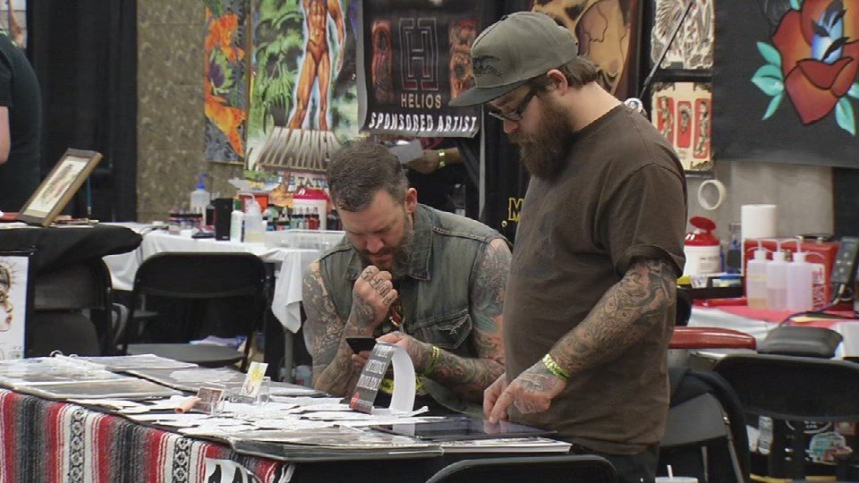 Tattoo artists from around the country set up shop in for Louisville tattoo artists