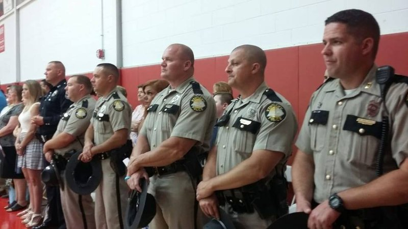 Dixie Auto Sales >> Kentucky State Police stand-in at graduation for son of ...