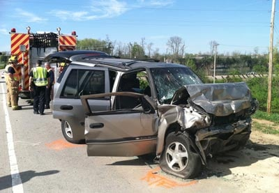 Tarc Bus Suv Crash On Old Henry Road Wdrb Louisville News