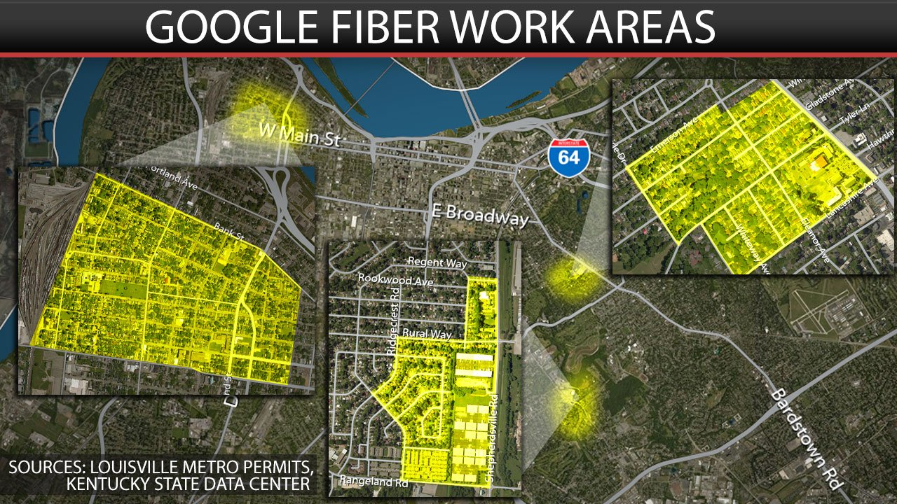Google Fiber moves into Highlands area of Louisville  WDRB 41