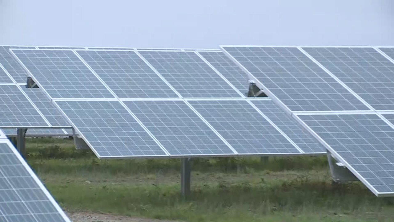 Solar Power Farm Dedicated In Clark County Ky Wdrb 41