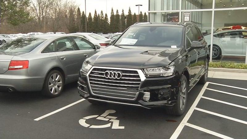 Police Say Man Crashed Into K Vehicle At Audi Dealership Afte - Audi car lot