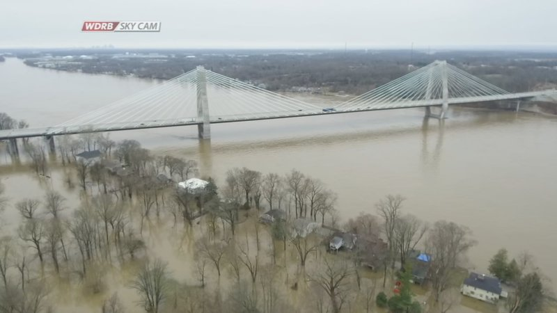 Coast Guard On Standby As Ohio River Flood Waters Reach
