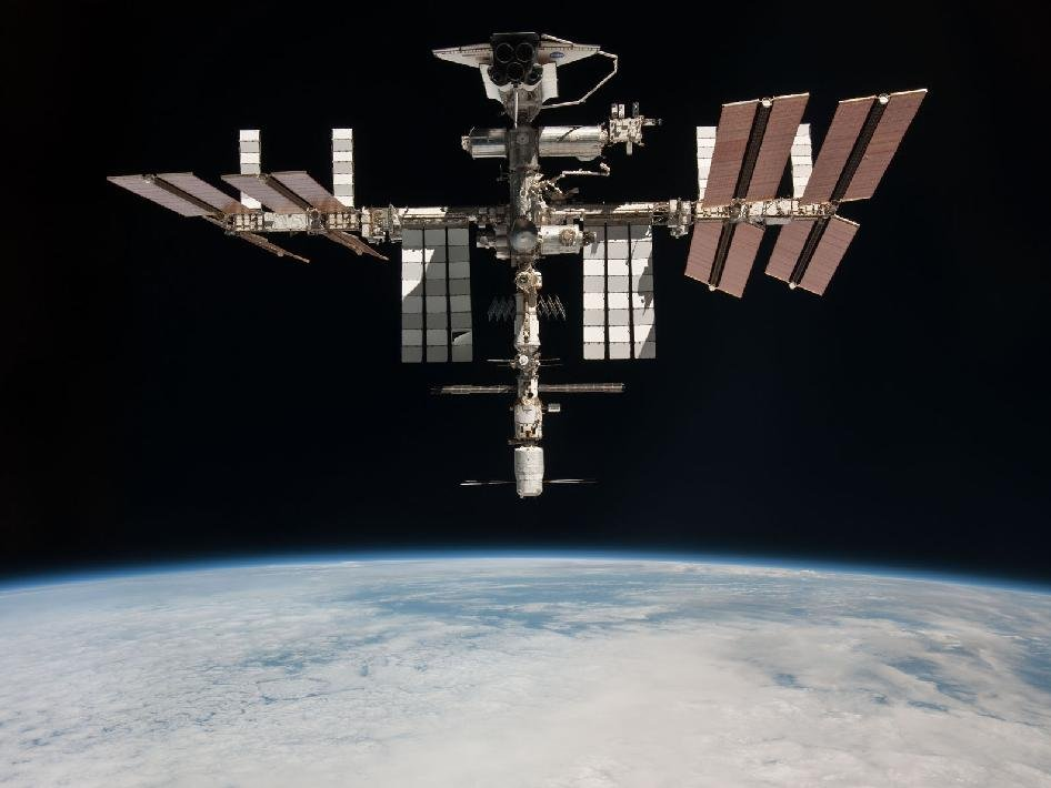 international space station visible - photo #2