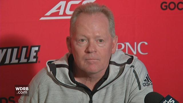 Raw Video U Of L Coach Bobby Petrino Talks About Spring