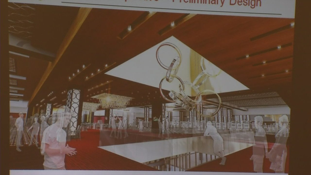 The project will renovate existing meeting and convention space. There will be an outdoor balcony, windows for natural light, and a new ventilation system.