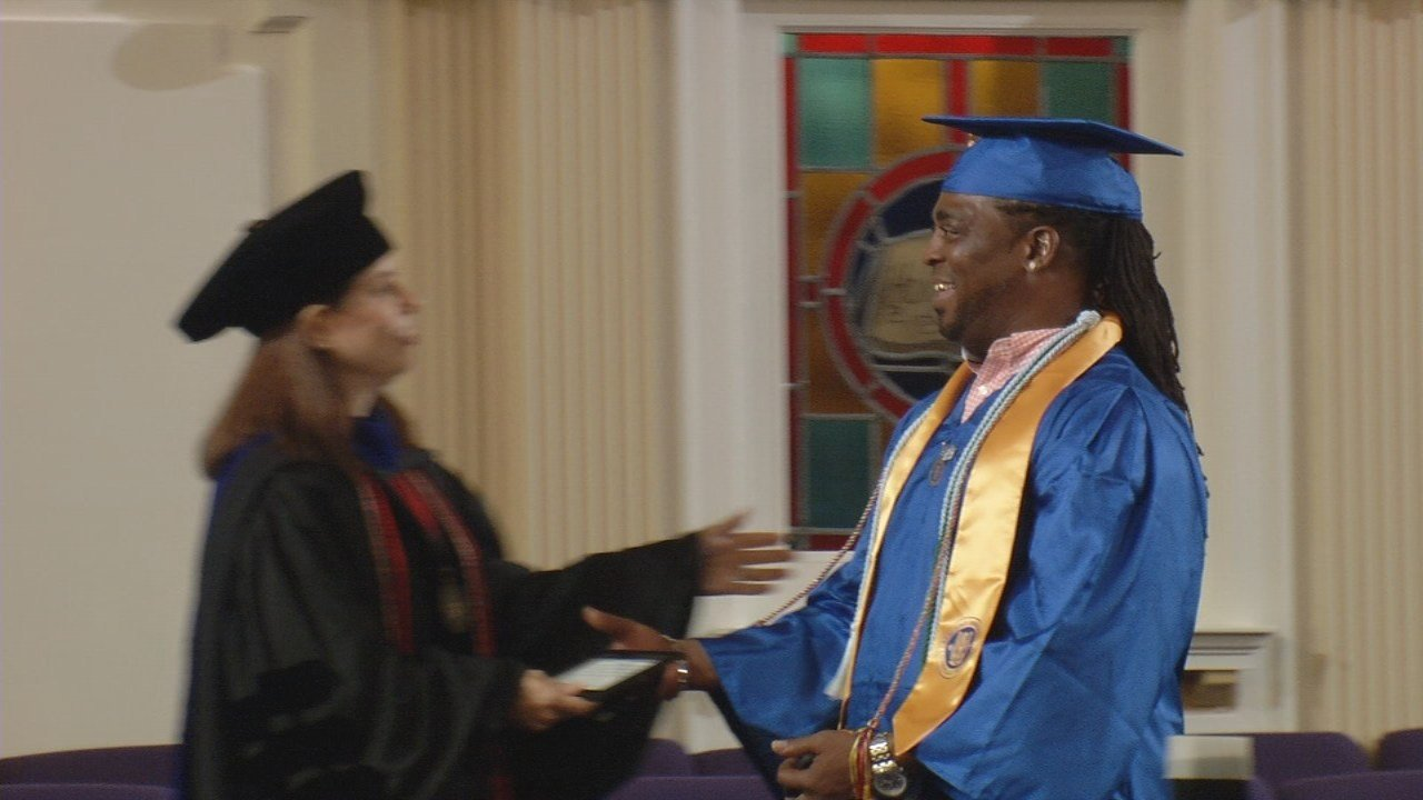 50-year-old ex-convict defies odds to become college graduate - WDRB ...