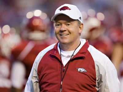 Arkansas coach Petrino on administrative leave after ...