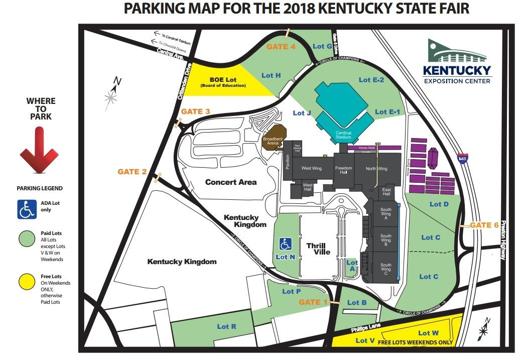 Express lanes and planned gate closures part of Ky. State Fair t ...
