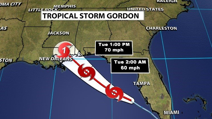 Louisiana governor declares state of emergency as tropical storm approaches