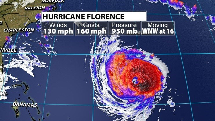 SC  refusing to evacuate inmates as monster storm Florence nears