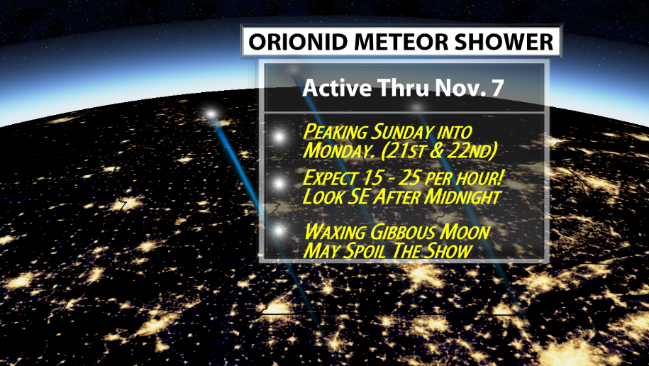 Look up: Meteor shower to light up Seattle's unusually cloudless night skies
