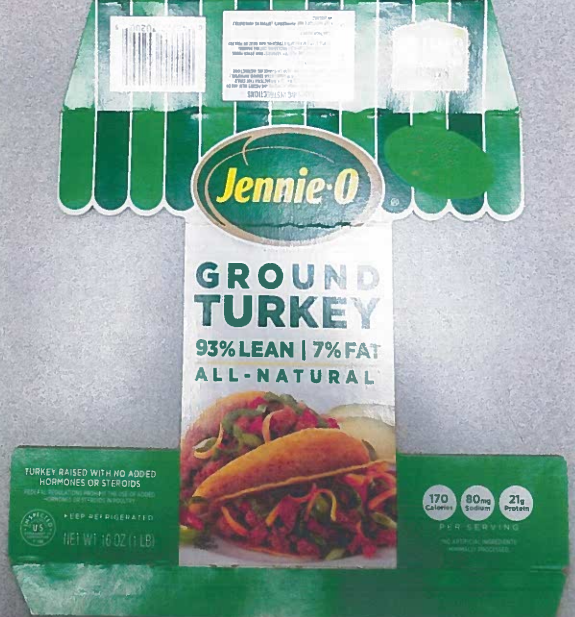 Jennie-O Turkey Products Recalled