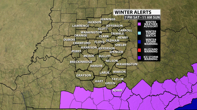 Winter Weather Advisories Extended On Saturday