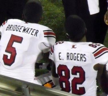 Teddy Bridgewater and Eli Rogers