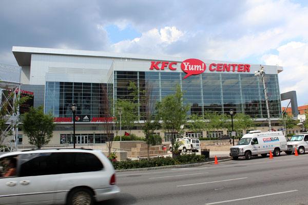 U of L Athletics Director Tom Jurich: City wants U of L ... |Kfc Yum Arena