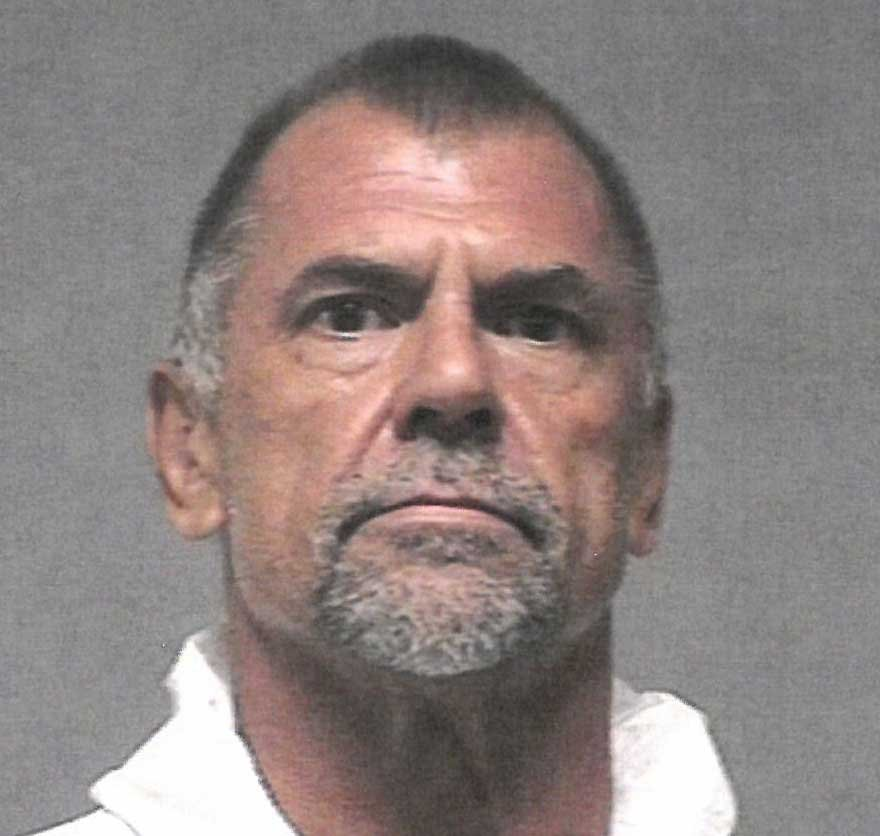 56-year-old Michael Lyle was charged with 'manufacturing meth'.