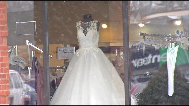 Bride-to-be who is suing Bridal Warehouse speaks out - WDRB 41 ...