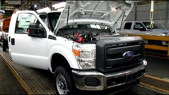 Ford to expand kentucky truck plant in eastern louisville for Jefferson ford motor company