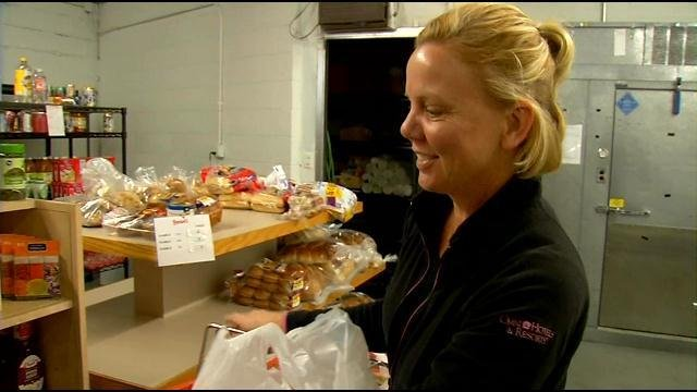 Louisville food pantry gets help to fill