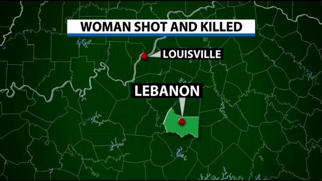 woman found shot to death in her lebanon  ky  driveway on