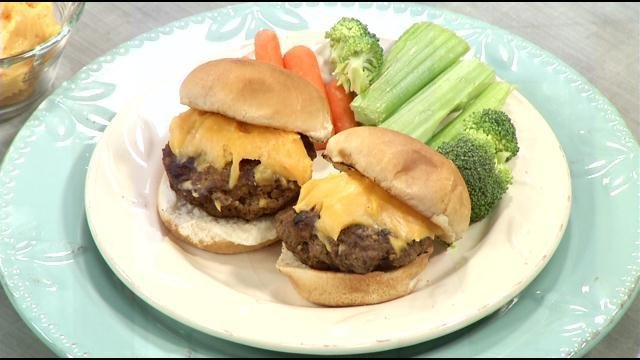 Backyard Burger Recipe For Cheesehead Sliders With Beer Cheese   WDRB 41  Louisville News