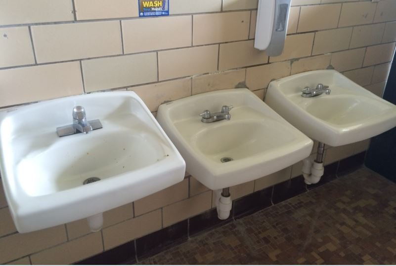 School Bathroom Sinks : School Bathroom Sinks Jcps going back to the future with reopening of ...