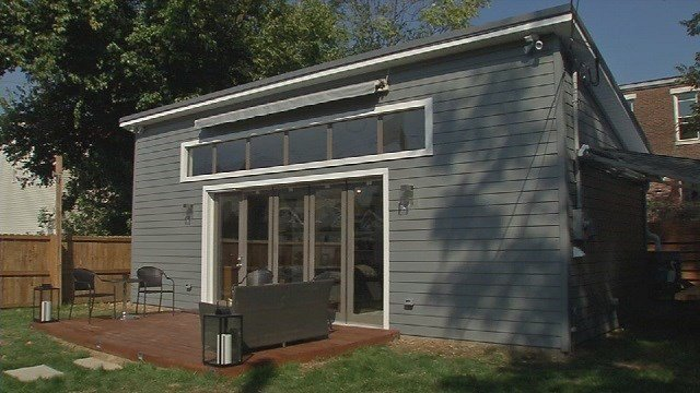 SLIDESHOW: An Inside Look At The Derby City Tiny House