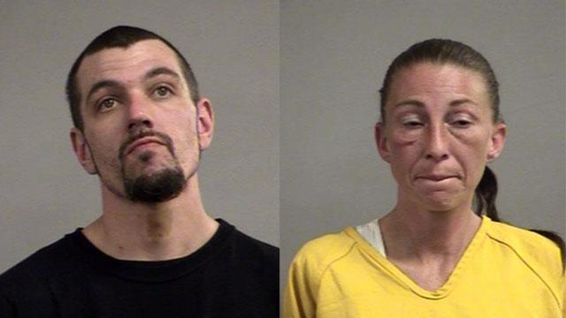 Matthew Pierce and Doreen Arterburn (Source: Louisville Metro Corrections)