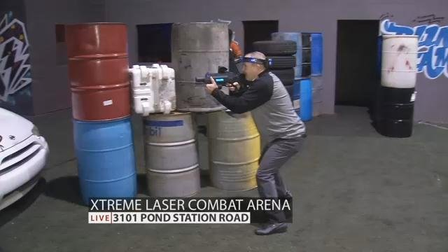 Urban Battle Ground Opens At Xtreme Laser Combat Arena