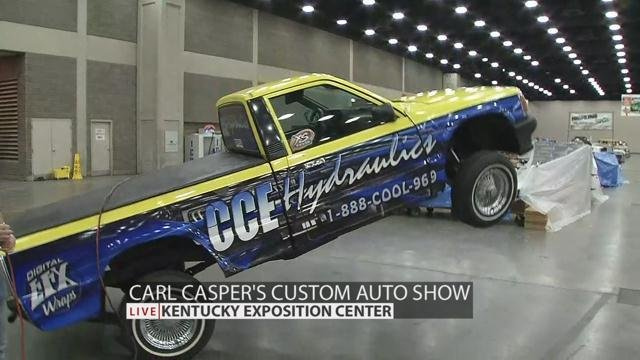 Carl Caspers Custom Auto Show Runs Feb WDRB - Cool cars louisville ky