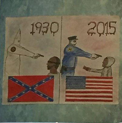 controversial student artwork taken down at north oldham