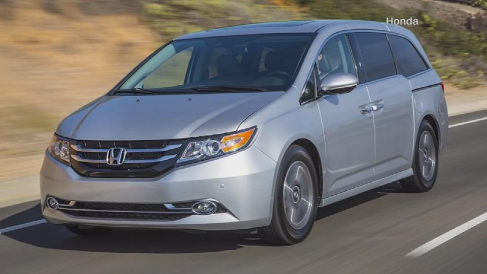 Honda recalls almost 650,000 Odyssey minivans