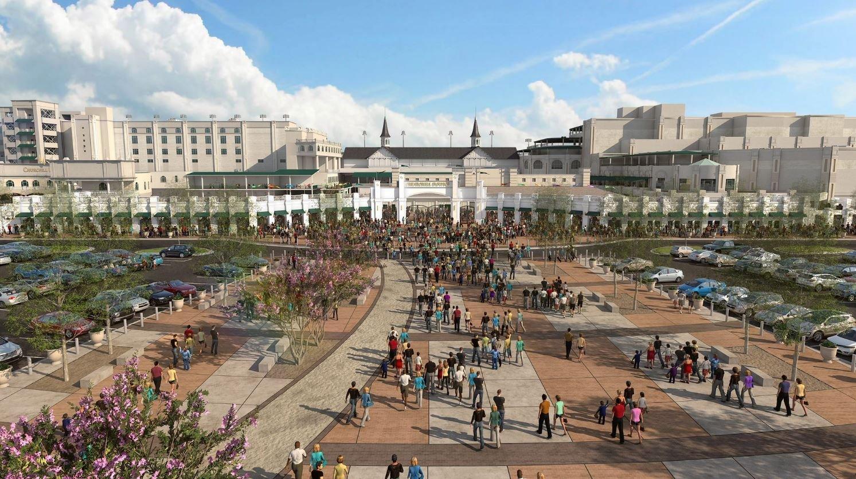 Churchill Downs releases renderings for $32 million ...