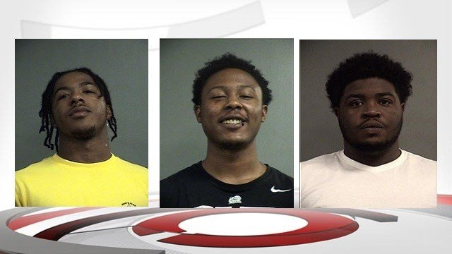 Dameus Parks, Kip McCray and Antonio Holloway (Images from Louisville Metro Corrections)