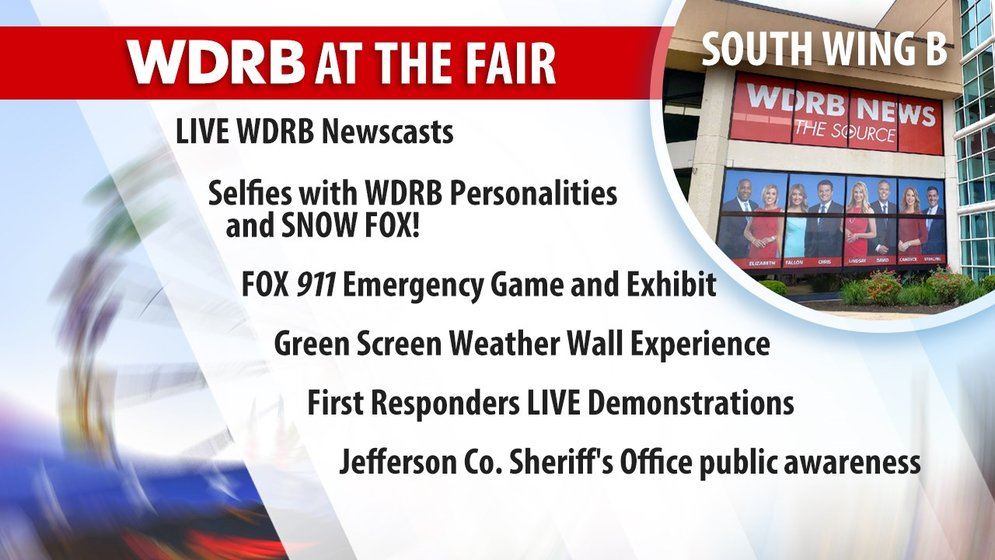 WDRB Days at the Fair' Schedule for Aug  20 - WDRB 41