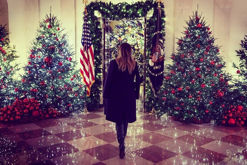 washington ap christmas has arrived at the white house