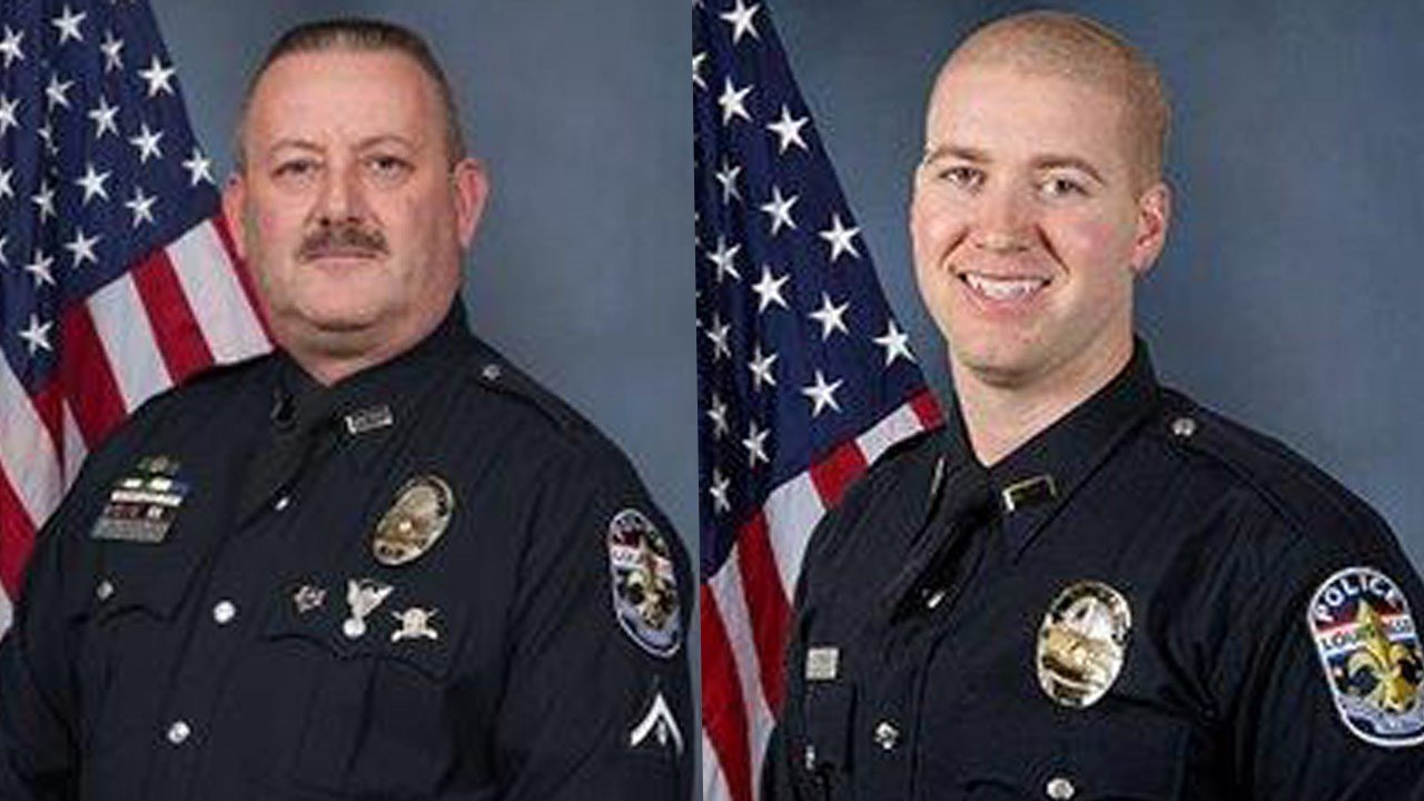 Ofc. William Mattingly and Ofc. Dallas Constant (Source: Louisville Metro Police Department)